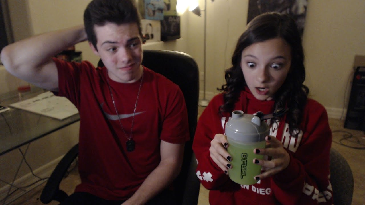 my little sister drinks gamma - youtube