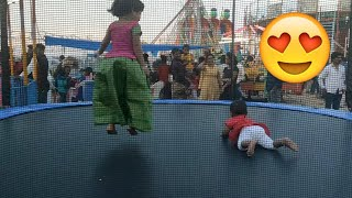 Kids Play Zone at Traditional Cultural Fair in Ameenpur Hyderabad