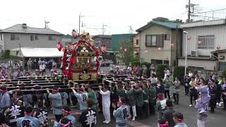 久下田祇園祭 宮出し   どっこい
