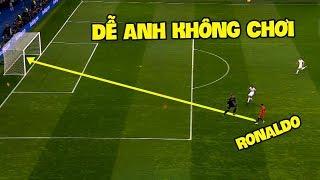 Duy nhất và chỉ có Cristiano Ronaldo mới có thể ghi bàn trong số tình huống này