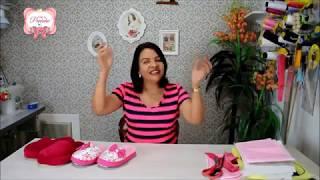 Aprenda a Fazer Pantufa Estilosa Para Ele ou Ela
