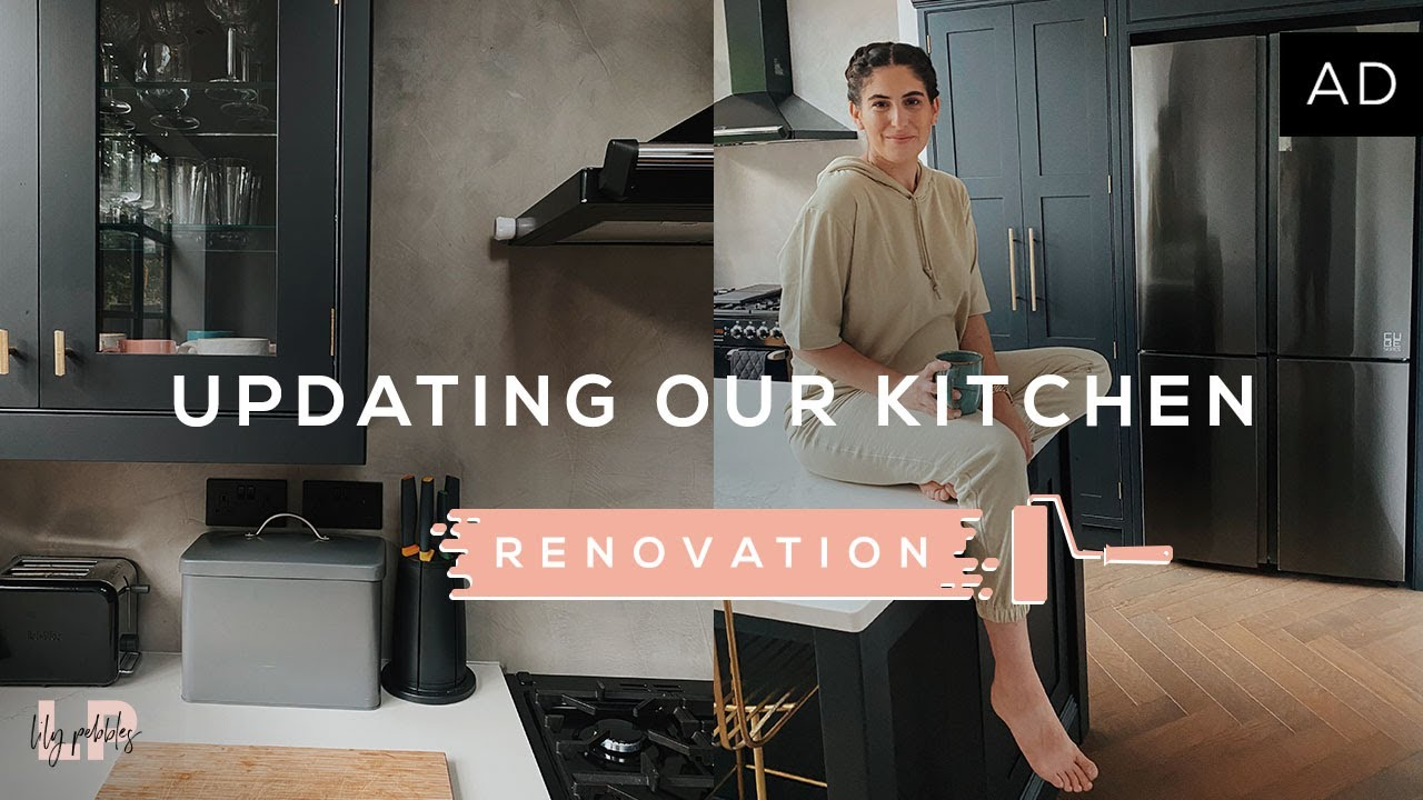 UPDATING OUR KITCHEN LAYOUT & COLOUR | Lily Pebbles