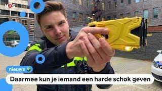 Politieagenten krijgen allemaal een stroomstootwapen