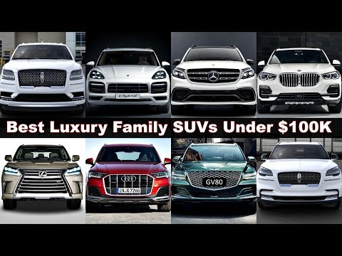 Top 10 Best Ultra Luxury SUVs Under 100K! (2020 -2021) Family suvs to buy. gv8, x5m, q7, gle. Review