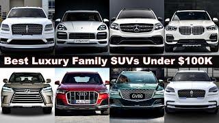 Top 10 Best Ultra Luxury SUVs Under 100K! (2021) genesis gv80, audi q7, bmw x5, lincoln aviator, gle