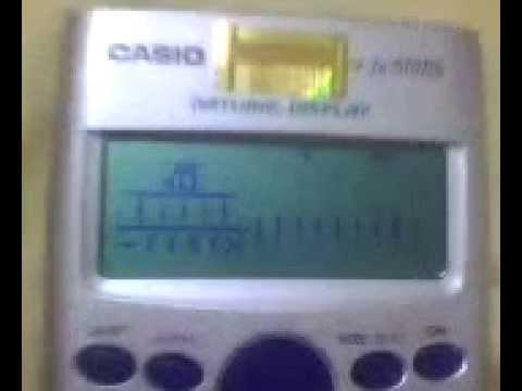 Làm hình động = Casio FX 570 ES