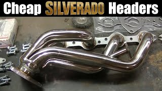 Silverado 2500HD 6.0 Header Install Polished Stainless from Ebay