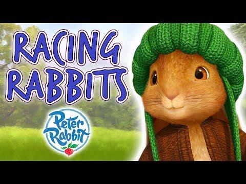 Peter Rabbit - Racing Rabbits | Cartoons for Kids