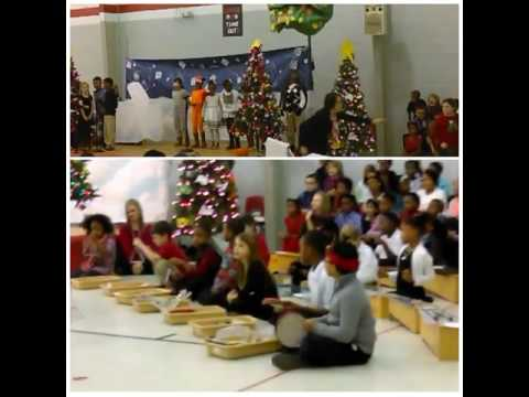 SupporTeen Youth at Reese Road Leadership Academy 2nd Grade Class Christmas Presentation