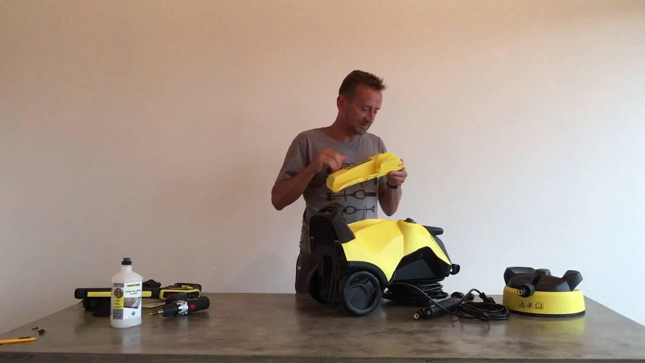 kaercherdirtbuster 1 0 unboxing k rcher k4 premium full control youtube. Black Bedroom Furniture Sets. Home Design Ideas