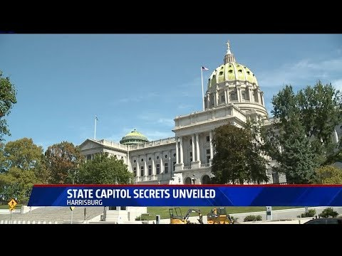 Fox43 News Takes a Secret Tour of the PA State Capitol Building