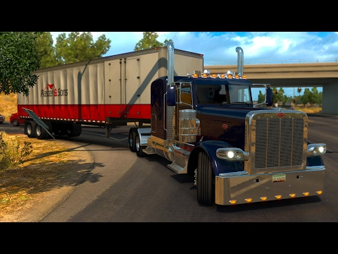 American Dream #36 Accidentes en el camino! Peterbilt 389 American Truck Simulator