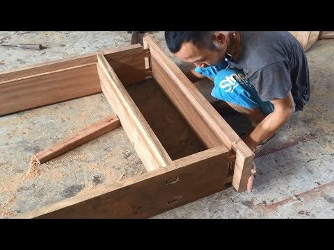 Amazing Project Hardwood Processing Extremely Large - Build New Door Frame Fastest And Easy
