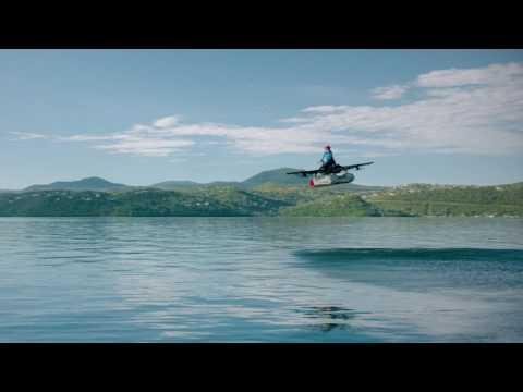 Kitty Hawk Flyer Prototype — Test Flight by Cimeron Morrissey