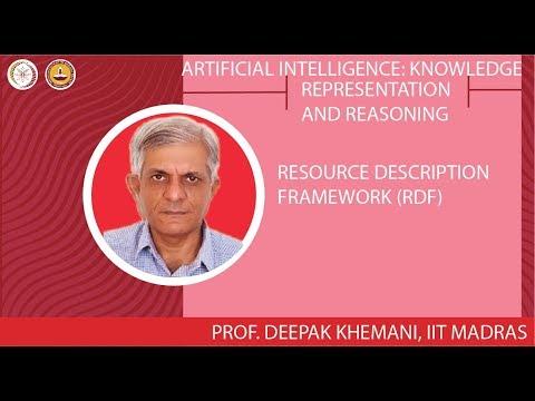 Representation: Resource Description Framework (RDF)
