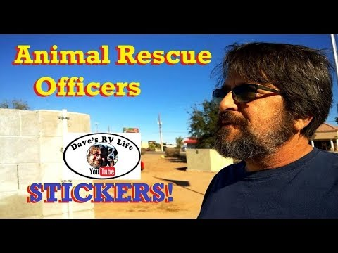 Stickers Yuma Animal Control Officers A Haircut Full Time