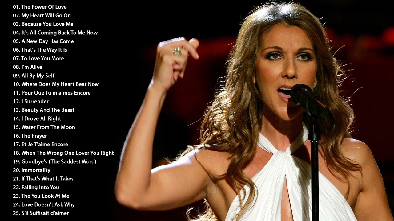 Download Celine Dion Greatest Hits Full Album 2021 - Celine Dion Best Songs