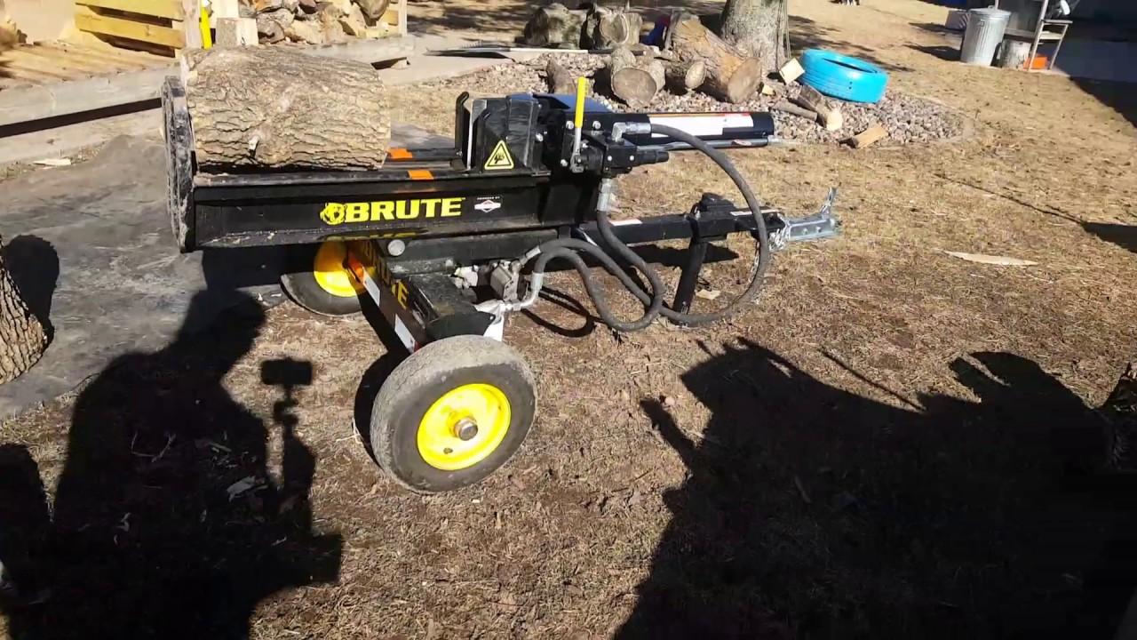 Brute 22 Ton Log Splitter You