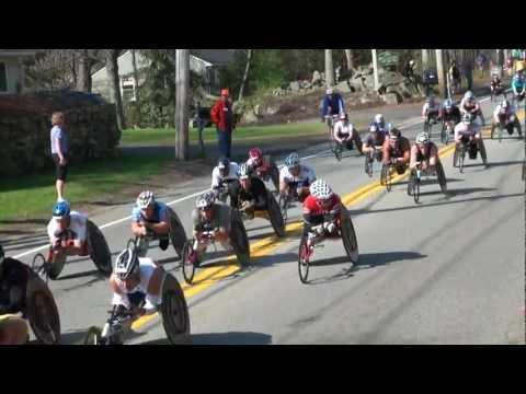 2012 Boston Marathon Mobility Impaired  Video