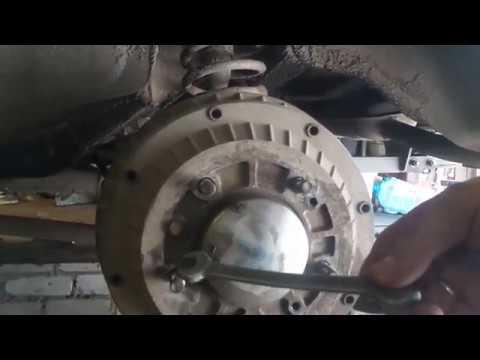 Замена троса ручника на НИВЕ ВАЗ 2121 стояночного тормоза замена задних тормозных цилиндров на ниве