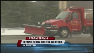 Grafton residents getting ready for snow