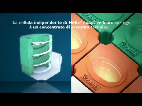 Materassi In Foam.Materassi Helix Adaptive Foam Springs Youtube
