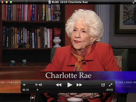 Charlotte Rae on Between the Lines