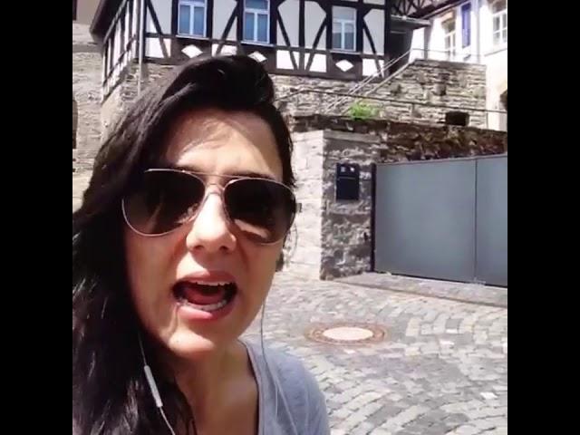 Ana, eine Bergsportlerin in Deutschland!!