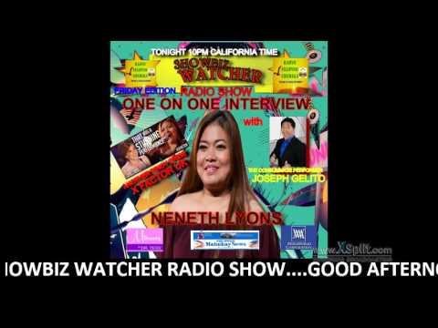 SHOWBIZ WATCHER RADIO SHOW 9/25/2015