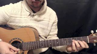 Chords in the Style of Tribute - Tenacious D - Jack Black - Lesson
