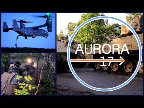 AURORA 17: WAR GAMES - SWEDES vs YANKS - Land, Air, Sea Attacks. Watch To See Who Won!
