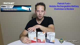 Patriot Fuel+ Mobile Rechargeable Battery Review + Overview