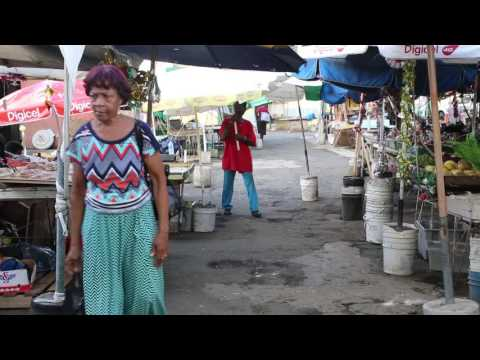 Sainte Lucie Castries Marché local / Saint Lucia Castries Local market