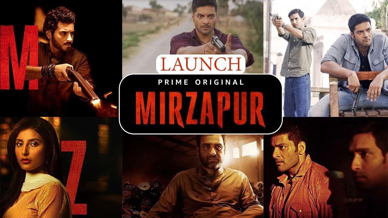 Mirzapur Amazon Prime Original Series Launch Full Video