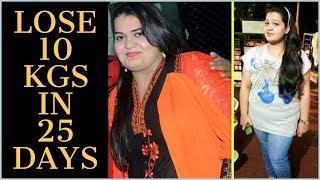 Full Day Weight Loss Diet Plan | Guaranteed Diet Plan | Lose Upto 10Kg in 25 Days | Fat to Fab Suman