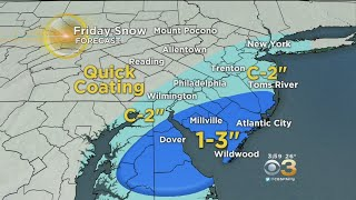 WEATHER ALERT: Snow Hitting The Philadelphia Region