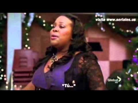 glee cast all i want for christmas is you mercedes jones full video - All I Want For Christmas Cast