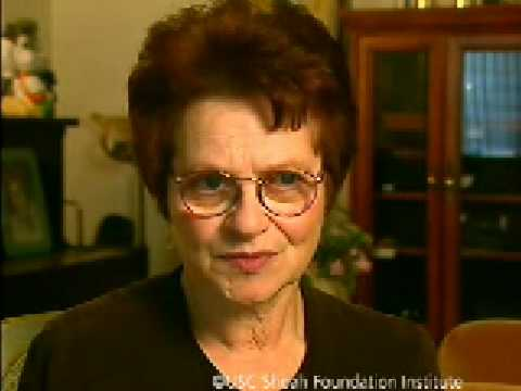 Holocaust Survivor Ursula Levy Testimony
