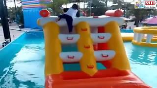 Taman Istana Balon Kolam Renang Mainan Anak | Asik Bermain Air WaterSlide WaterPark Gofun