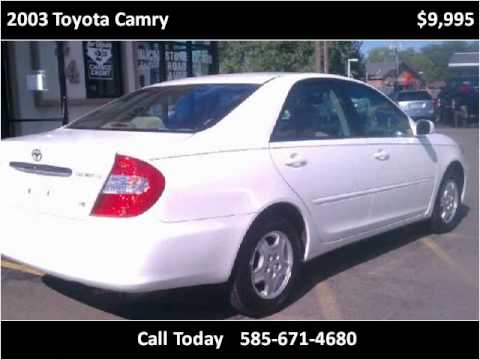 2003 Toyota Camry Used Cars Webster NY