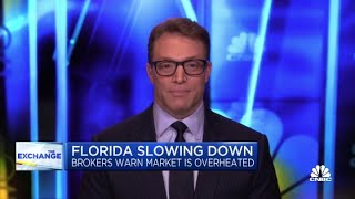 Brokers warn that Florida real estate market is overheated