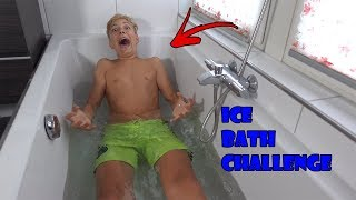 THE ICE BATH CHALLENGE - HUGO