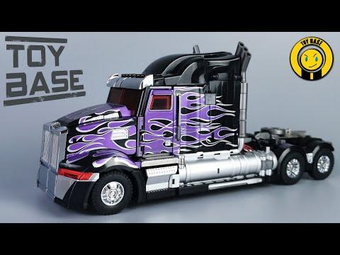 【Dark Knight Optimus Prime】Unique Toys Transformers movie 5 custom OP UTR02P Truck robot toys