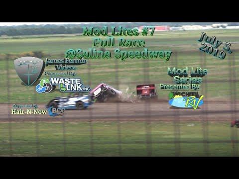 Mod Lites #7, Full Race, Salina Speedway, 07/05/19