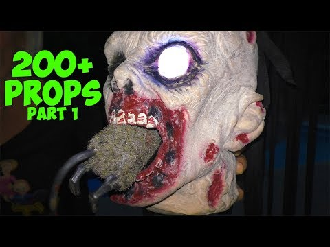 200+ Small Halloween Props and Animatronics Part 1