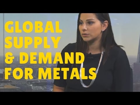 How is the Demand of Metals Correlated to GDP and Global World Population?