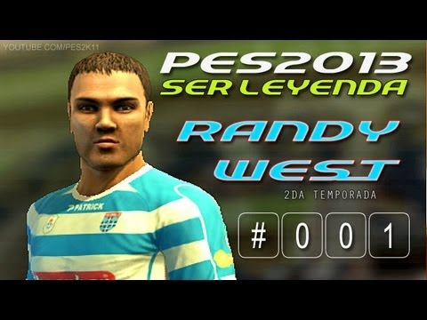 PES 2013 / Ser Leyenda: Randy West S02E01