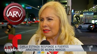 Carla Estrada reacciona contra Niurka Marcos | Al Rojo Vivo | Telemundo