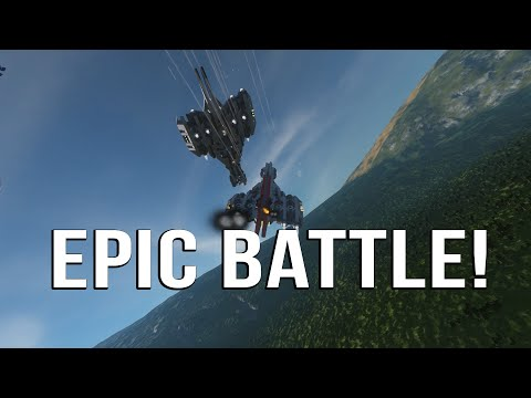SPACE ENGINEERS | *EPIC* PLANET BATTLE