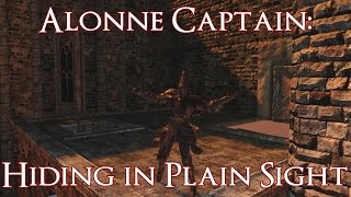 dark souls ii alonne captain hiding in plain sight